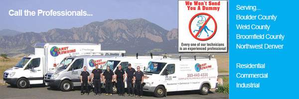 planet plumbing service areas boulder-weld-broomfield county
