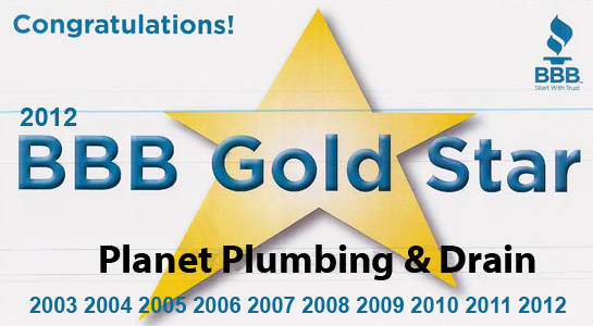 bbb 5 gold star award plumber-plumbing-plumbers boulder