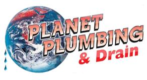 planet plumbing and drain boulder logo