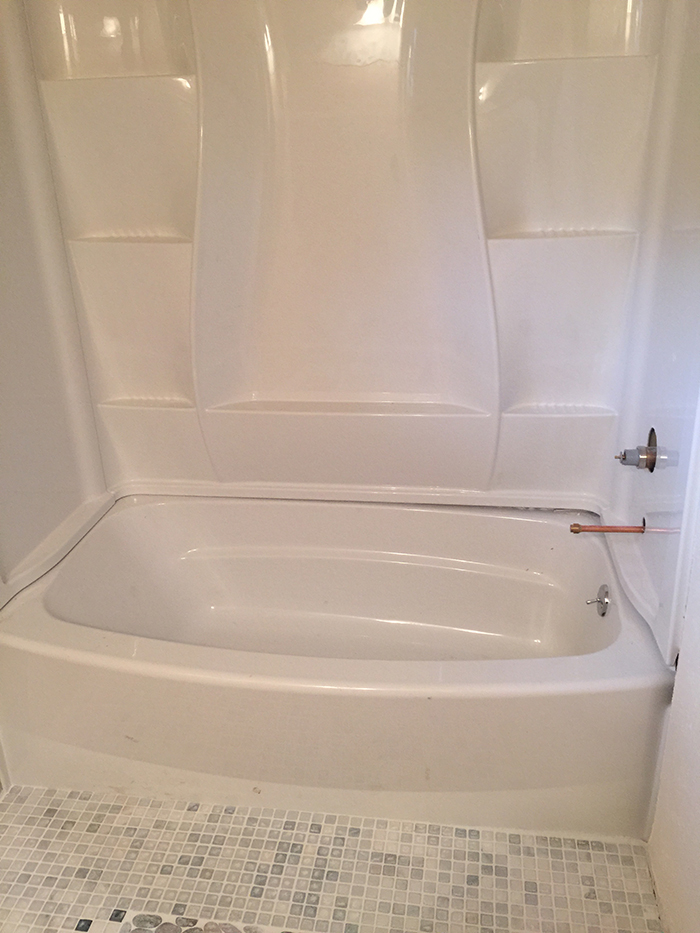 bouder bathtub installation